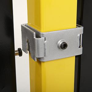 Drop N Lock 174 Bracket System For Saf T Fence 174 Folding