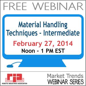 Material Handling Techniques - Intermediate - FREE Webinar