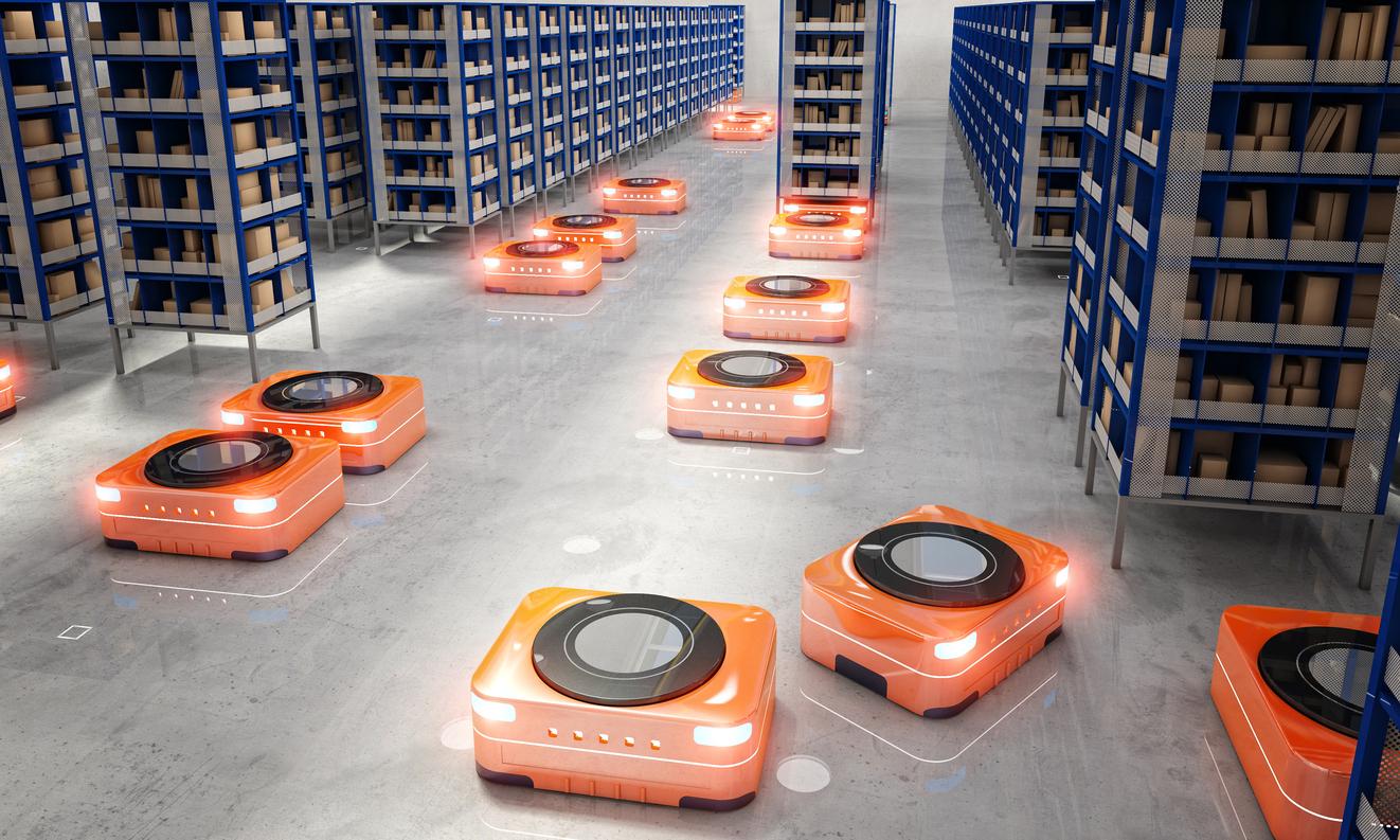 Robots in Logistics and Transportation